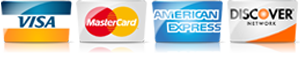 For AC in Parker CO, we accept most major credit cards.