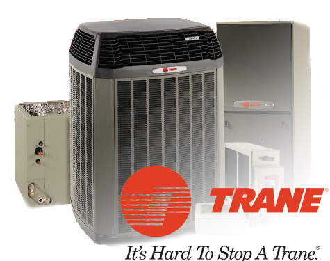 Parker Heating & Air, Inc. is an authorized Trane Dealer>