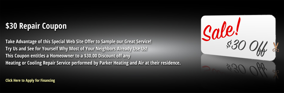 Get discounts on your Air Conditioning repair in Aurora CO from Parker Heating & Air, Inc..
